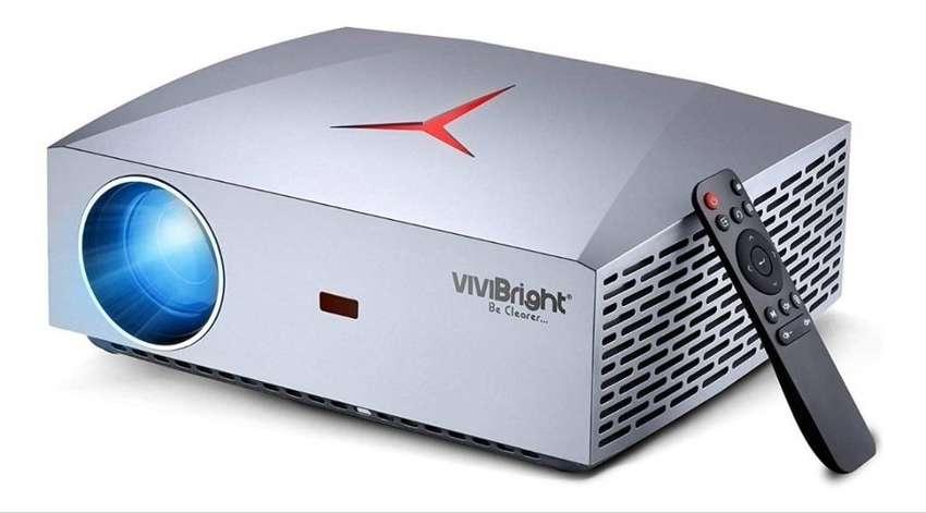 Proyector Led F40 Full Hd 1080 / 4200lm Sonido Hifi Hdmi 0