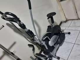 Bicicleta para hacer deporte
