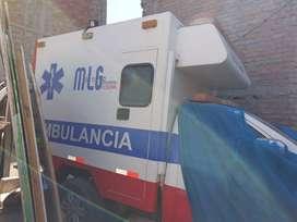 cabina de ambulancia