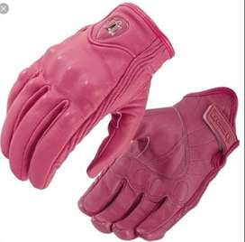 GUANTES ICON PORSUIT ROSA  . GIRARDOT GDT