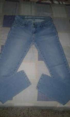 Jeans de marca talle 38/40 elastizado