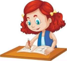 Clases particulares de dibujo, gramática y ortografía.