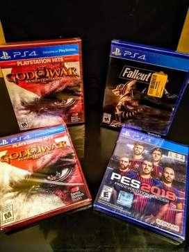 Juegos ps4 varios títulos nuevos sellados