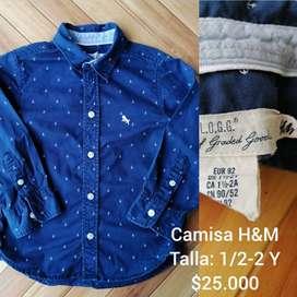 Camisa H&M niño