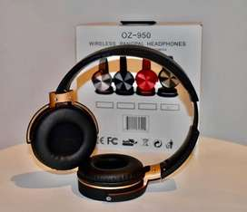 Audífonos Diadema Bluetooth Wireless Super Bass