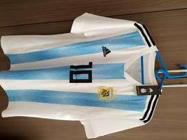 Camiseta Argentina World Cup 2018 #10 Messi