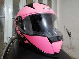 Casco dama color rosa talla s shaft