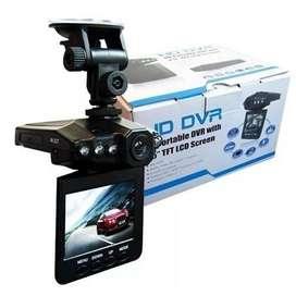 camara para carros dvr HD lcd 2.5 visión nocturna micro 32+
