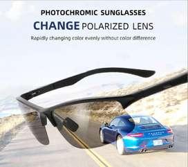 Gafas de sol lentes fotocromáticos, polarizados filtro UV400