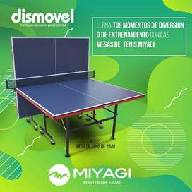 Mesa De Ping Pong Miyagi 18 Mm Profesional