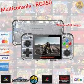 Consola RETRO RG-350 MULTIPLATAFORMA