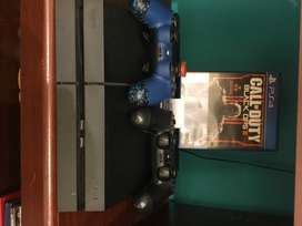 Playstation 4 + Control Competitivo Scuf + Juego Black Ops 3