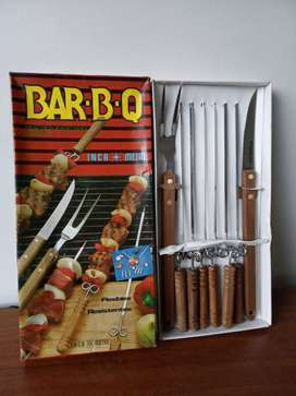 Set de Parrilla BBQ Inca Metal