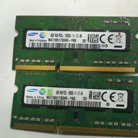 MEMORIAS DDR3 para portátil