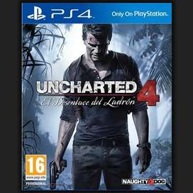 Uncharted 4 PlayStation 4 Nuevo