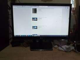 Monitor LED de 51cm (20 pulgadas), formato 16:9, resolución 1600x900, Dual Smart Solution