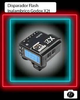 Disparador flash Godox x2t
