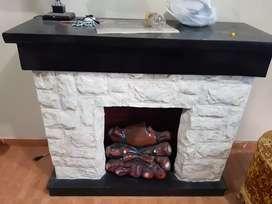 Se vende linda chimenea en buen estado