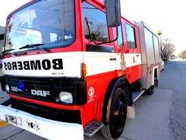 AUTOBOMBA DAF 1300 VENDE BOMBEROS RIO COLORADO POR RENOVACION PARQUE AUTOMOTOR