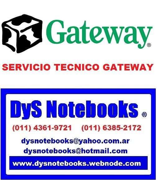 GATEWAY SERVICIO TECNICO NOTEBOOK NEBOOK LAPTOP 0