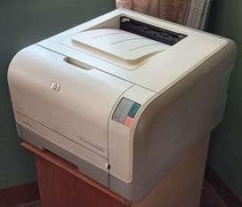 Impresora HP CP1215-Toner Blanco y Negro y a colores