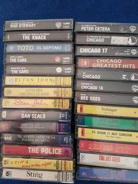 Casettes de música originales