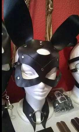 Mascaras de cuero, cosplay disfraz  moda, tendencia