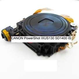 Lente canon Powershot Sd1400 Ixus130is