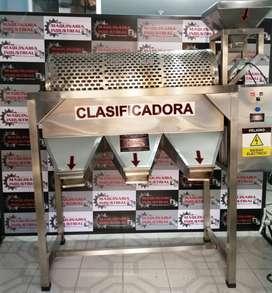 CLASIFICADORA DE CACAO EN ACERO INOXIDABLE