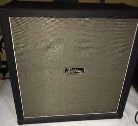 Cabina para guitarra 4x12 Kustom