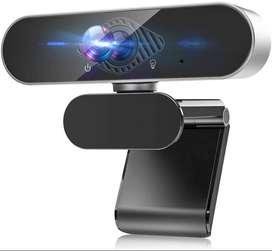 Webcam full HD 1080P con micrófono, cámara web de alta definición
