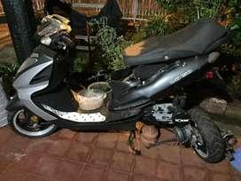 moto para repuesto