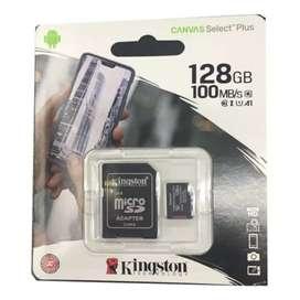 Memoria micro sd 128gb Full HD Kingston