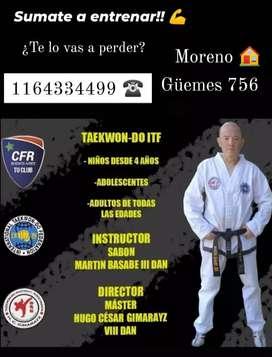 Taekwon-do ITF Moreno