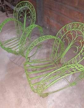 sillones antiguos hermosos