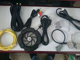CABLES DE AUDIO RCA, PODER PARA PC, RED Y ACCESORIOS