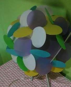 Lámpara de colores