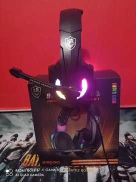 DIADEMA GAMER RGB G9000