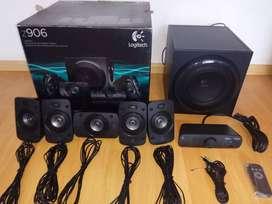 Parlantes cine en casa Logitech Z906 Surround 5.1 / Thx Dolby Dts
