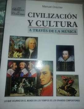 Libro Civilización y Cultura a través de la Música