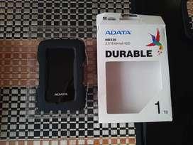Disco duro externo Adata 1TB , excelente estado