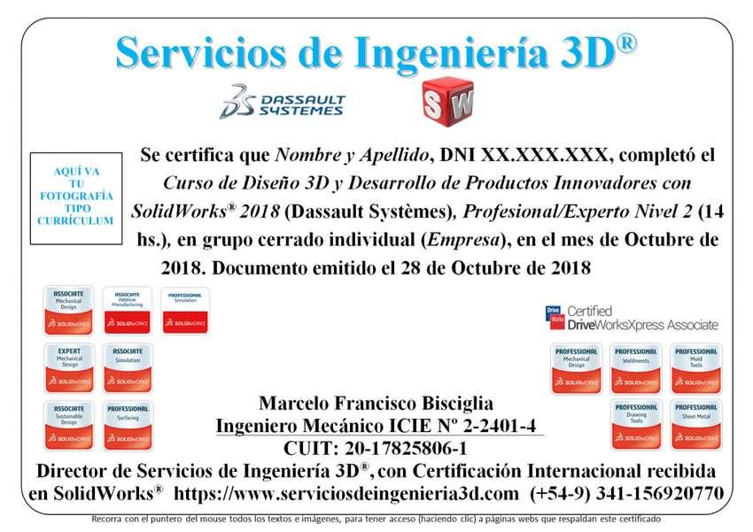 Máster 2020 en Diseño 3D y Desarrollo de Productos Innovadores con SolidWorks 0