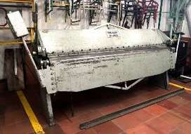 DOBLADORA DE LAMINA NIAGARA MODELO U-250