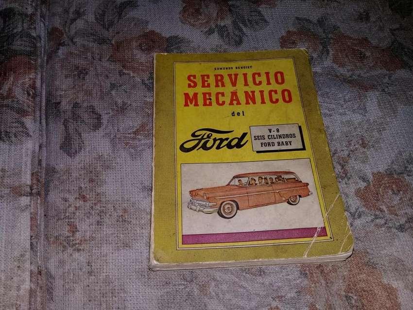 Servicio Mecanico Del Ford V-8,  6 Cilindros Y Ford Baby. 0
