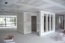 Instalación de Cielo raso en Drywall Superboard y muros divisiones etc