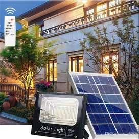 Reflector Led Panel Solar 40w 60w 100w 200w Con Control
