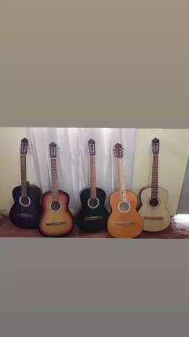 Guitarras criollas + funda de regalo