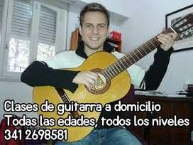 Clases de guitarra a Domicilio!