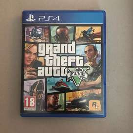 Juego Físico Grand Theft Auto V PS4