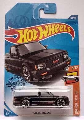 Hot Wheels GMC Syclone 91